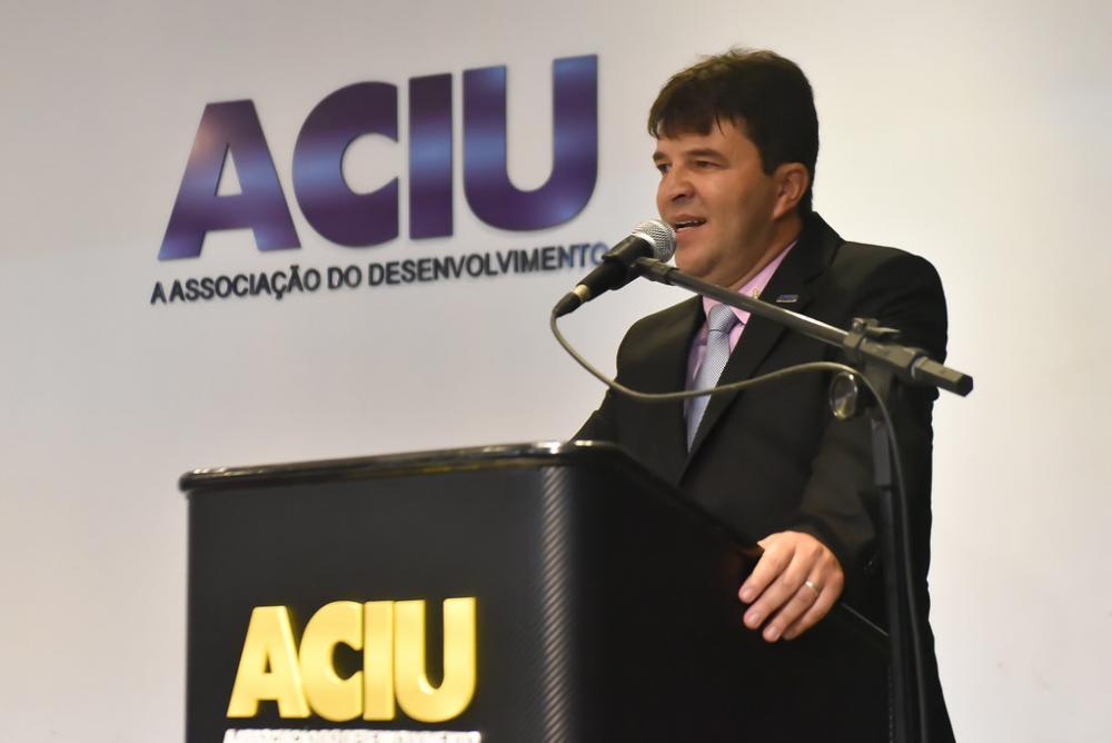 Presidene da Aciu, Anderson Cadima promove campanha pela importância do voto - Foto: Arquivo