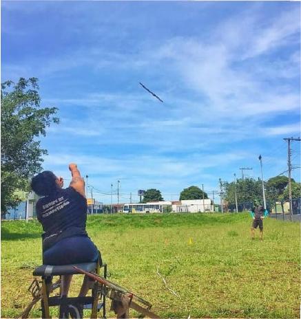 """""""Estou dedicada para chegar bem às competições classificatórias"""", disse Poliana Sousa - Foto: Divulgação"""