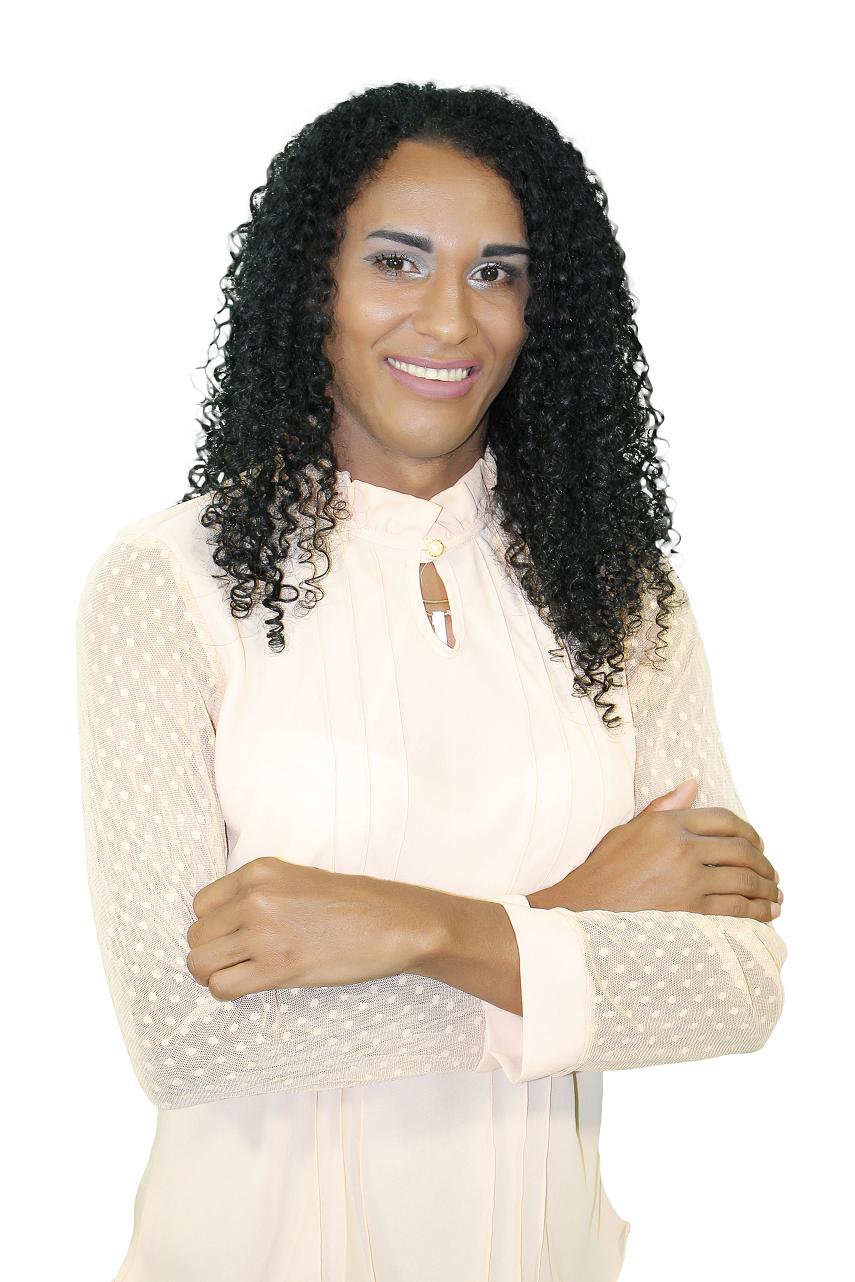 A jovem Haylla Rodrigues, defensora dos direitos da população LGBTQIA+ é uma das candidatas à vereadora nas eleições 2020.