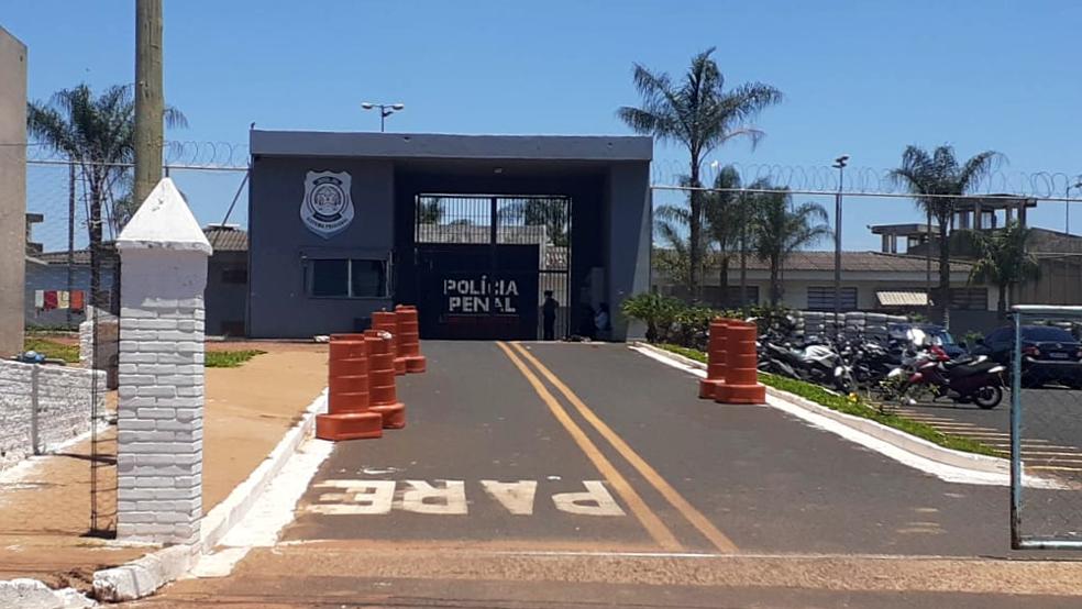 Penitenciária Professor Aluízio Ignácio de Oliveira em Uberaba - Foto: Joyce Rodrigues/G1