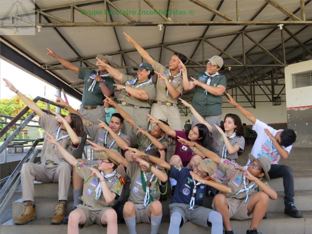 Grupo Escoteiro Inconfidentes comemora 30 anos de fundação
