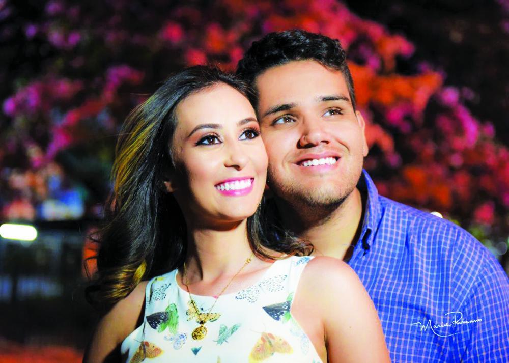 Allynne Regina Siqueira e Vitor Alexandre Ferreira Araújo são os belos noivos do dia 21 de setembro