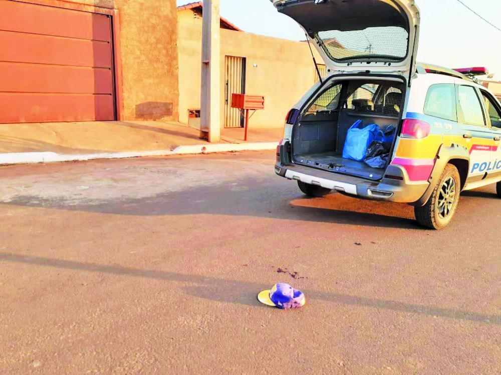 Crime aconteceu em via pública em Campo Florido