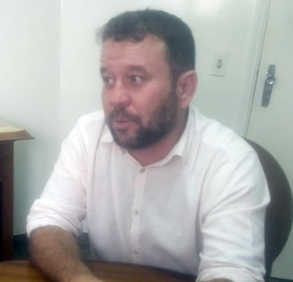 Presidente eleito do PT em Uberaba, professor Germano Fernandes - Foto: José Paulo Kefalas