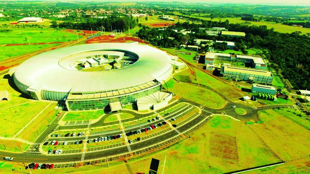 Sirius: maior estrutura científica do país, instalada em Campinas (SP) - Foto: CNPEM/Sirius/Divulgação