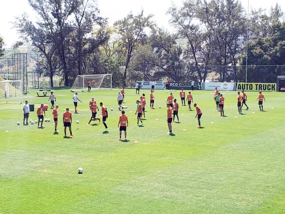 Para melhor adaptação ao horário de 11h (do jogo contra o Inter), Galo treina pela manhã - Foto: Frederico Ribeiro