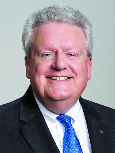 Mark Maloney, presidente do Rotary International