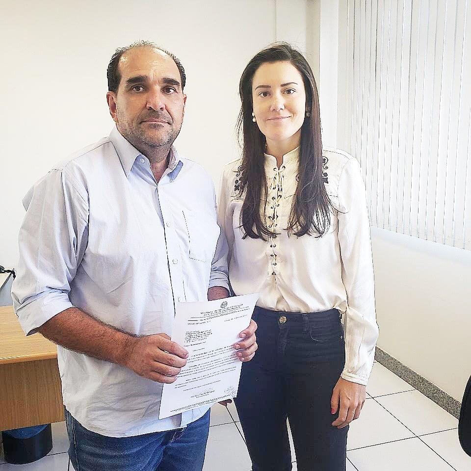 Presidente da Câmara Ismar Marão se reúne com a promotora de Justiça do Meio Ambiente, Monique Mosca Gonçalves - Foto: Divulgação/CMU
