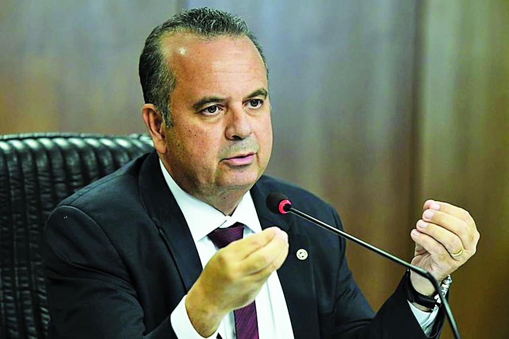 O secretário especial de Previdência e Trabalho, Rogério Marinho, em evento no Ministério da Economia - Foto: Edu Andrade/Ministério da Economia