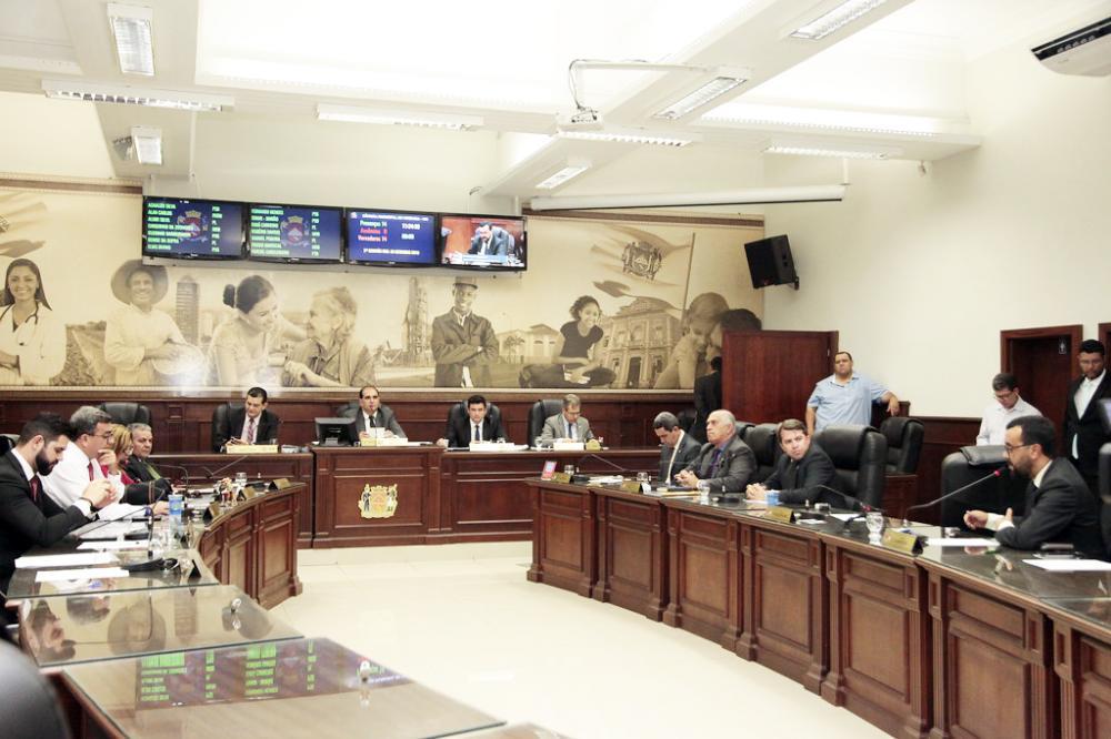 Vereadores irão votar oito projetos e um deles pode dar polêmica na reunião -Foto: Rodrigo Garcia/CMU