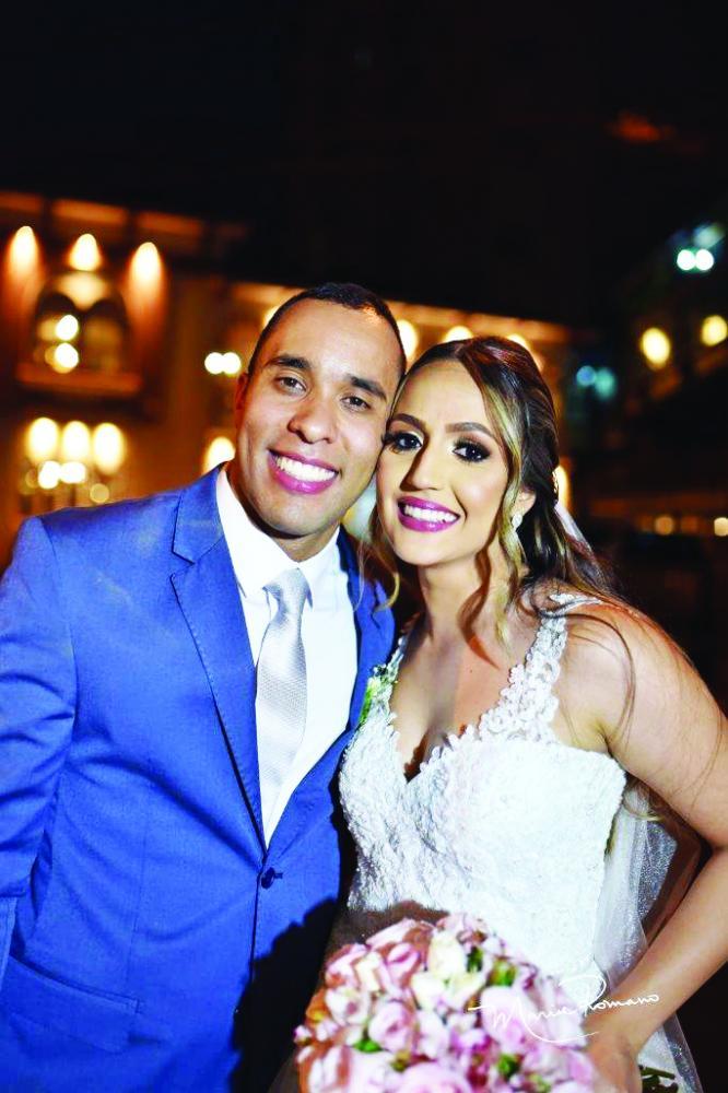 Bárbara Cristina Fonseca e Pedro Paulo de Sousa Araújo foram os apaixonados noivos do dia 14 de setembro na Igreja Presbiteriana Central