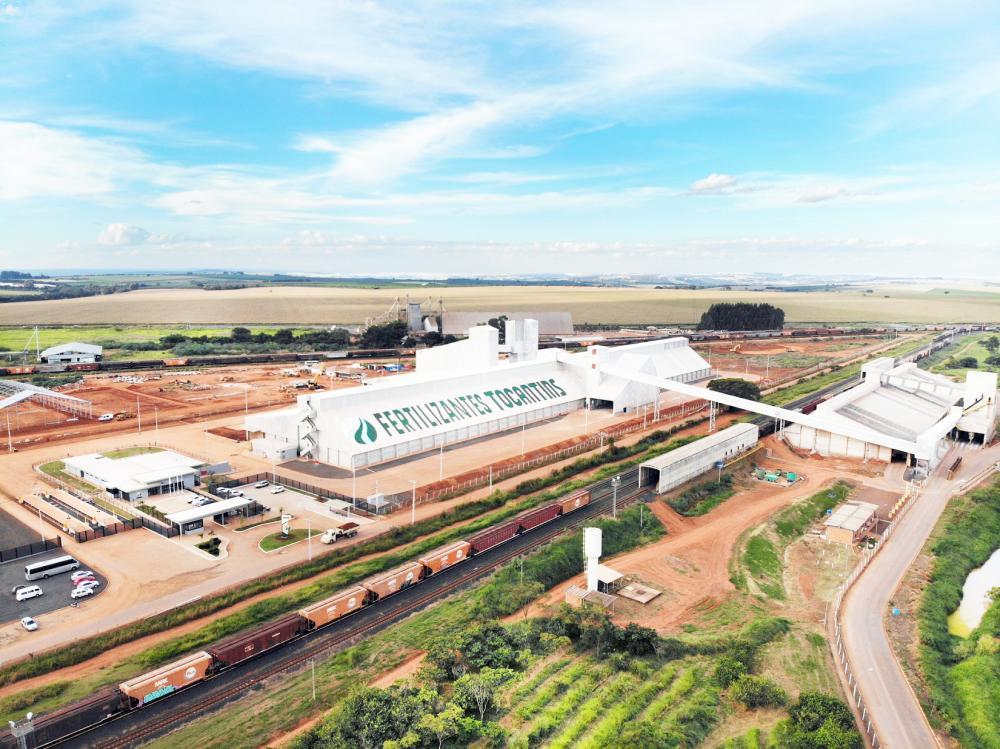 Nova Fábrica FTO em Araguari ao lado do Terminal da VLI e conectada à FCA - Foto: Divulgação