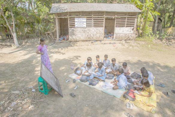 A mestra e a alfabetização básica