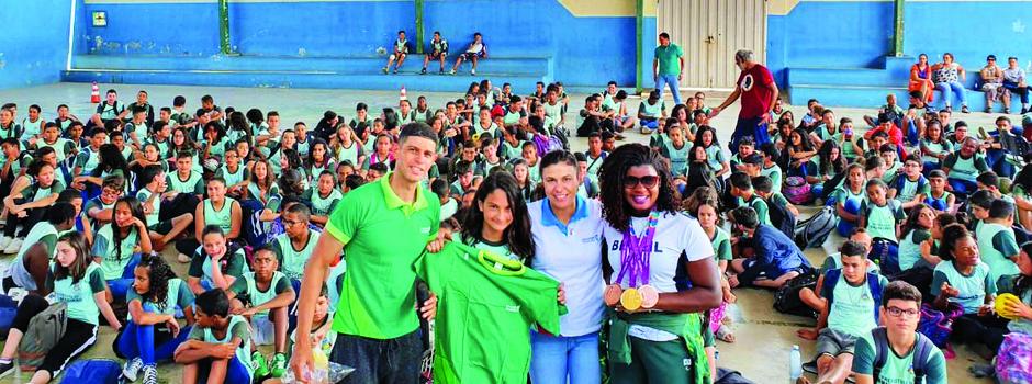 Ação da Secretaria de Desenvolvimento Social promove inclusão e conhecimento para os alunos - Foto: Divulgação/Sedese