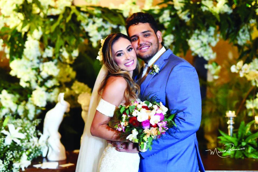 Allynne Regina Siqueria e Vitor Alexandre Ferreira Araújo se casaram no dia 21 de setembro, na residência dele