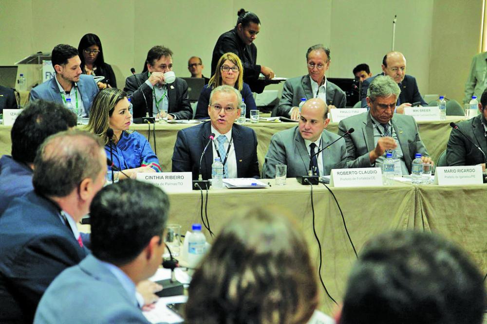 Prefeito Paulo Piau participa de encontro da FNP em Salvador - Foto: Divulgação