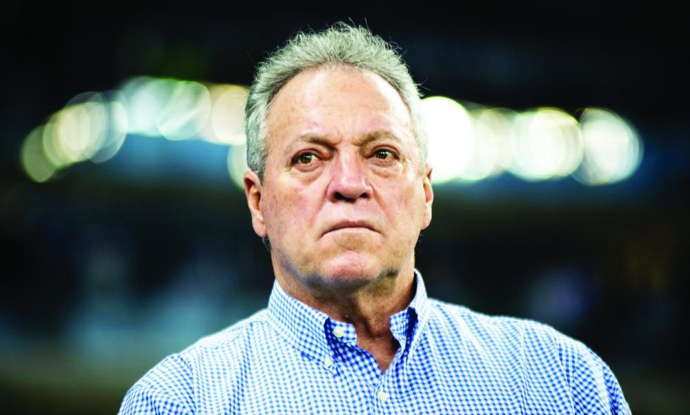 """""""Sei que está sendo difícil, mas não vamos nos entregar"""", disse o técnico do Cruzeiro Abel Braga - Foto: Bruno Haddad/Cruzeiro"""