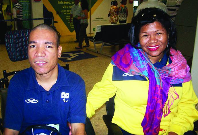 José Carlos Oliveira e Ercileide Silva estarão nas Paralimpíadas do Japão 2020