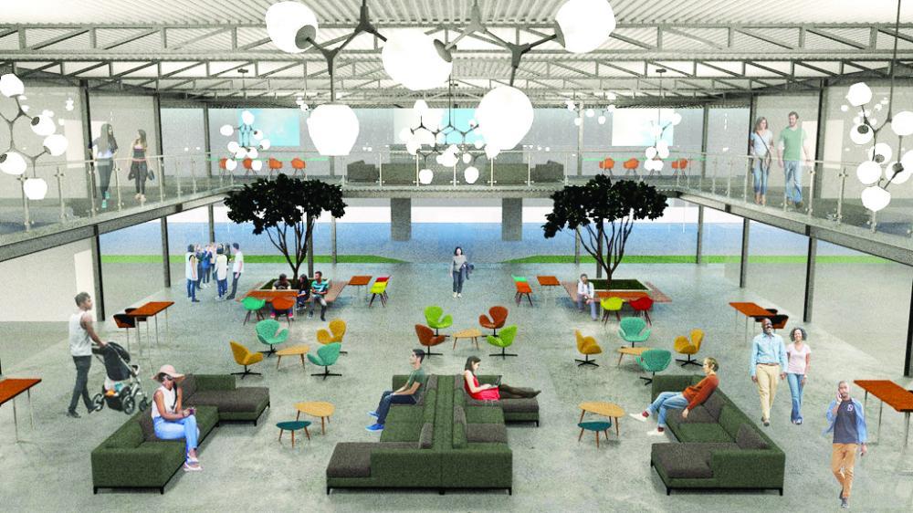 Projeto do Centro de Inovações, no Parque Tecnológico, será moderno e sustentável e reuniu empresários, técnicos e imprensa, que elogiou planejamento - Foto: Reprodução/PMU