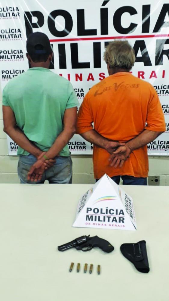 Bezerros foram recuperados com os acusados - Foto: Juliano Carlos