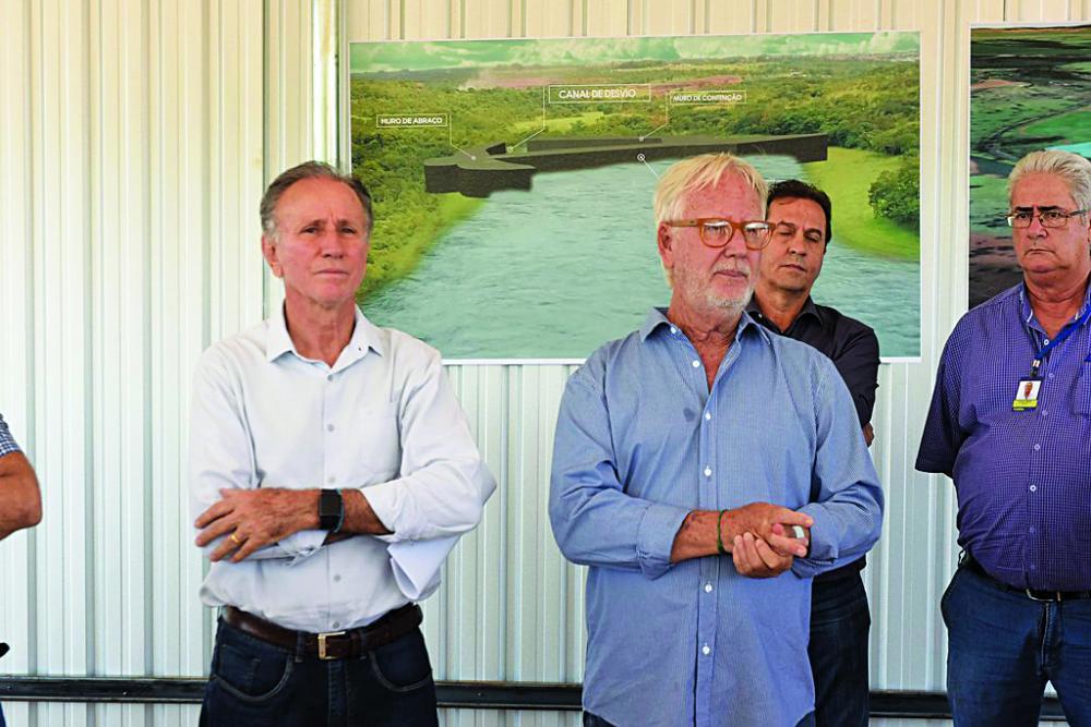 Presidente da Codau, Luiz Guaritá Neto, afirma que não pensa em ser candidato, mas espera que a cidade continue em boas mãos - Foto: André Santos / PMU