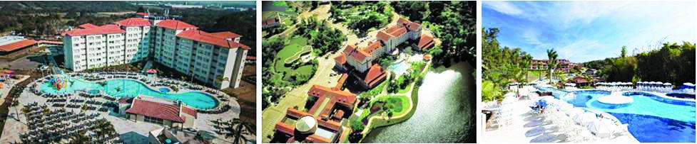 Tauá Resort & Convention Atibaia, Grande Hotel Termas de Araxá e Tauá Resort & Convention Caeté - Fotos: Divulgação