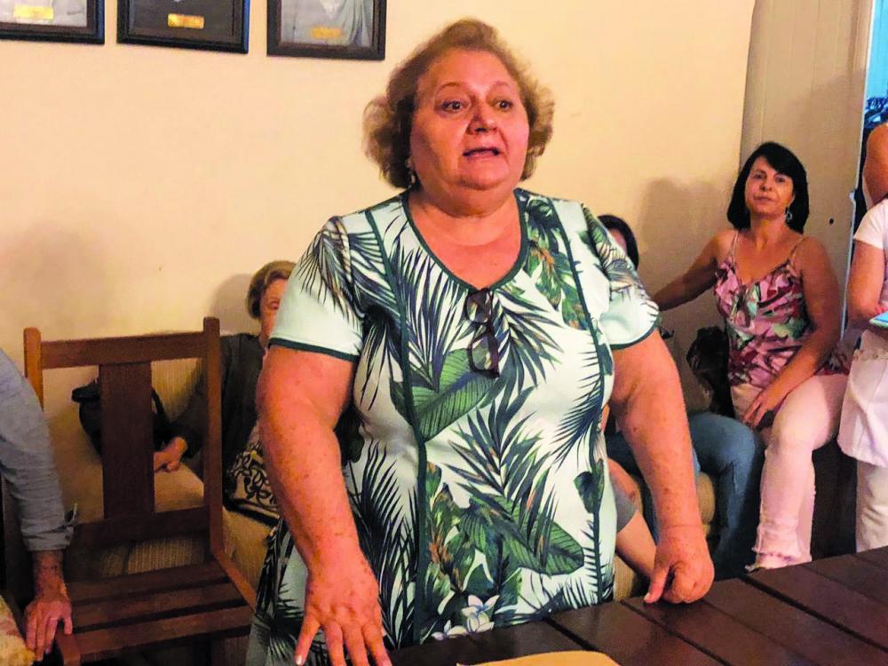 Presidente do Asilo Santo Antônio, Edna Idaló, diz estar confiante em uma solução pra resolver a interdição parcial da instituição - Foto: Marise Romano