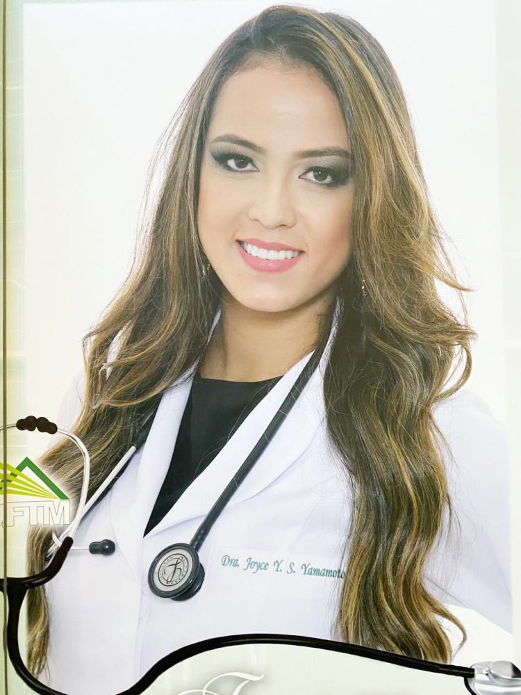 Jovem médica Joyce Yuri Silvestre foi destaque no Fantástico do último domingo na Globo