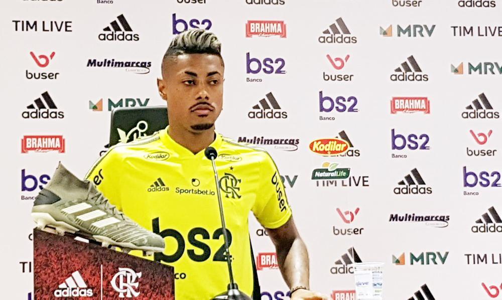 Bruno Henrique reencontra o Botafogo hoje - Foto: Marcelo Baltar