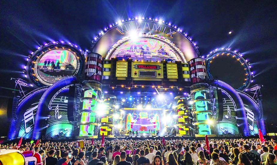 A censura do VillaMix Festival Uberaba é de 16 anos para Área VIP e 18 anos para Prime e Golden, em função do open bar