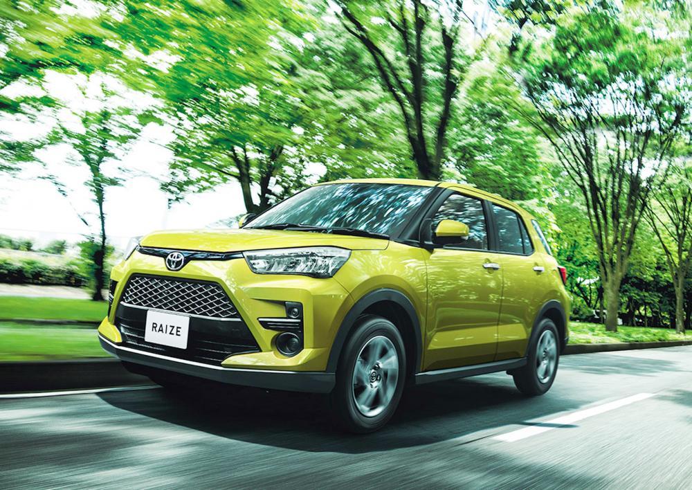 Raize foi apresentado para o mercado japonês, e tem base da Daihatsu, marca de entrada do grupo