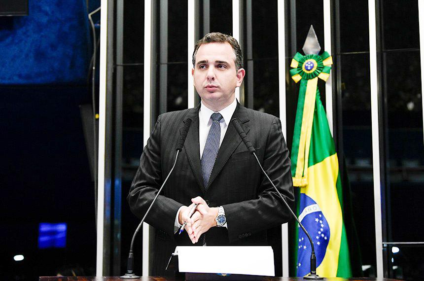 Pacheco defende revisão do pacto federativo no lugar de extinção de municípios - Foto: Rudy/Agência Senado