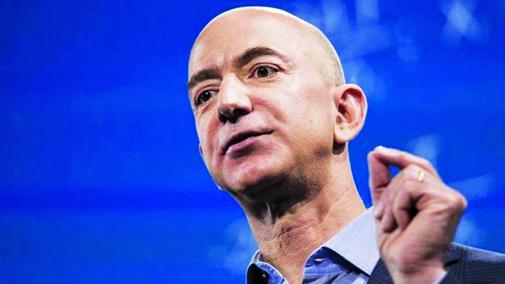 Fundador da Amazon, Bezos, um dos homens mais ricos do mundo - Foto: Getty Images