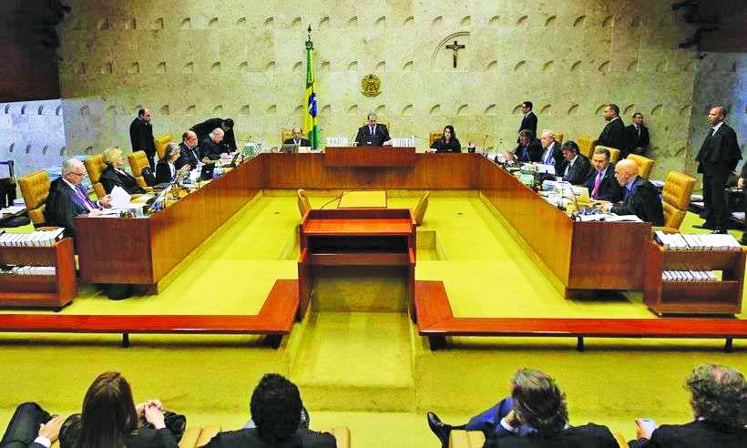 STF julga casos de prisão após segunda instância - Foto: Fabio Rodrigues Pozzebom/Agência Brasil