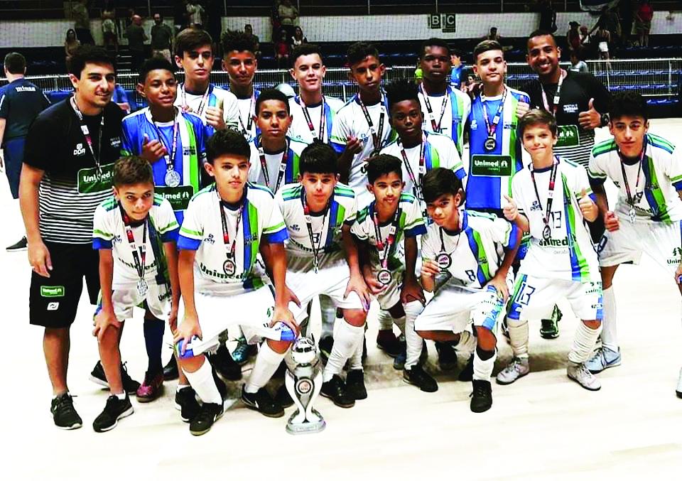 Equipe de futsal Funel/Unimed é vice no Mineiro - Foto: Divulgação/Funel