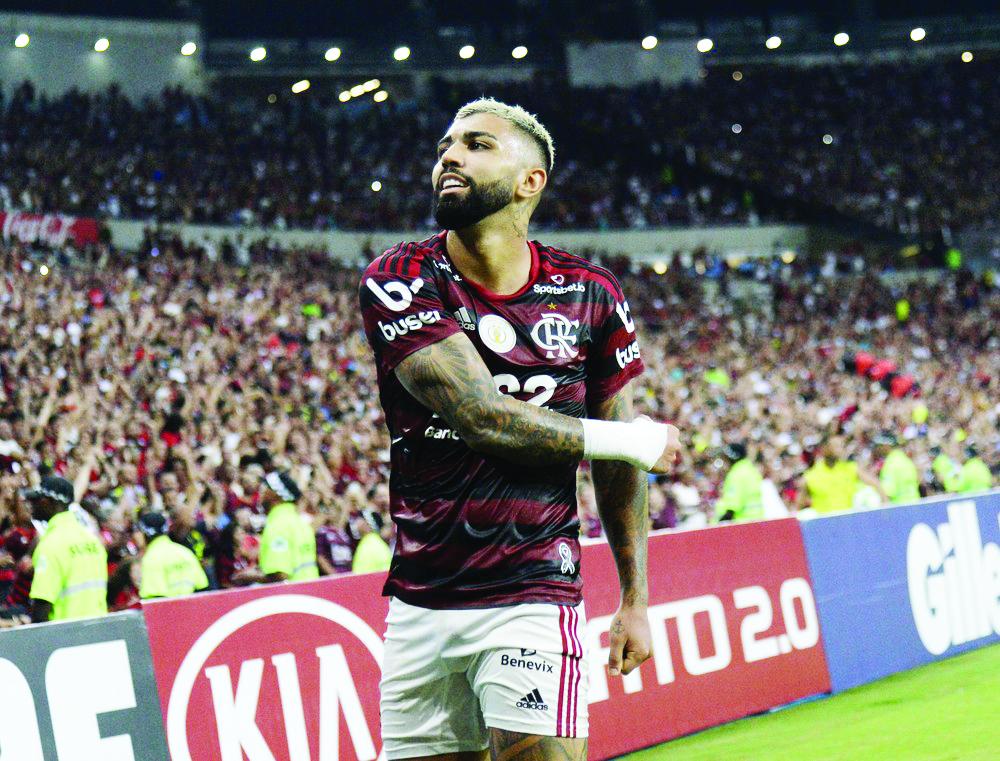 Gabigol segue marcando e levando o Fla às vitórias - Foto: André Durão/GloboEsporte.com