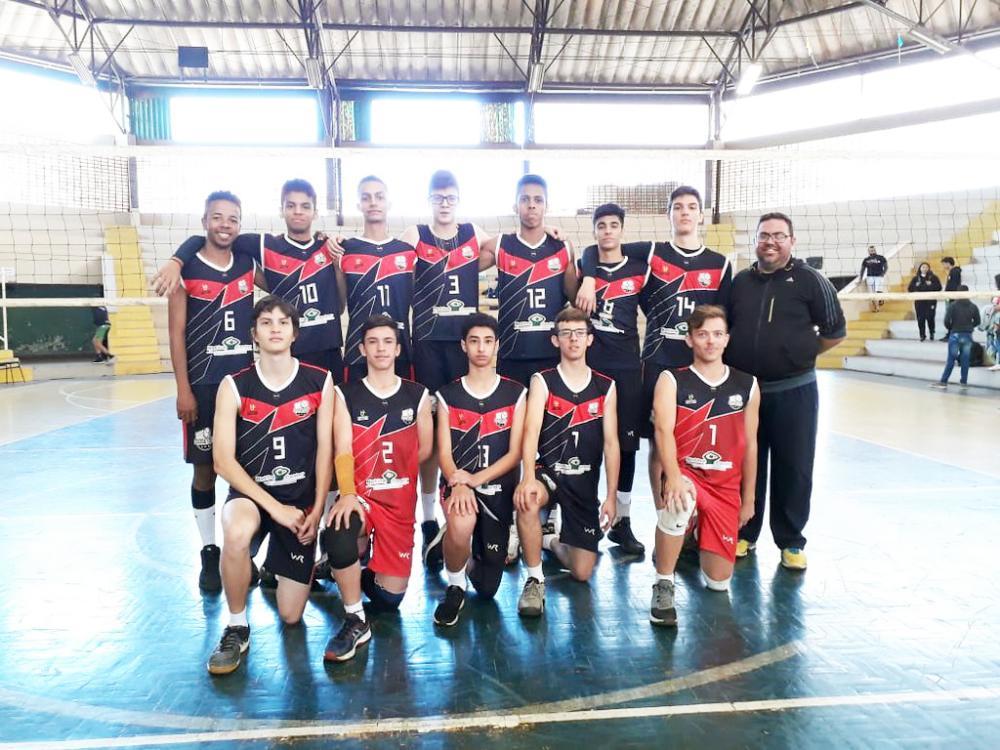 Equipe sub-17 de vôlei da Funel - Foto: Divulgação/Funel