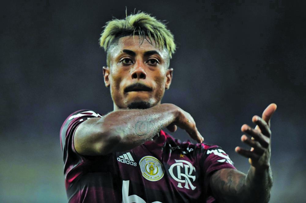Onze dos 31 gols do atacante Bruno Henrique em 2019 foram contra rivais locais. Após cutucar jogador do Botafogo, declaração após empate com o Vasco gera repercussão - Foto: André Durão
