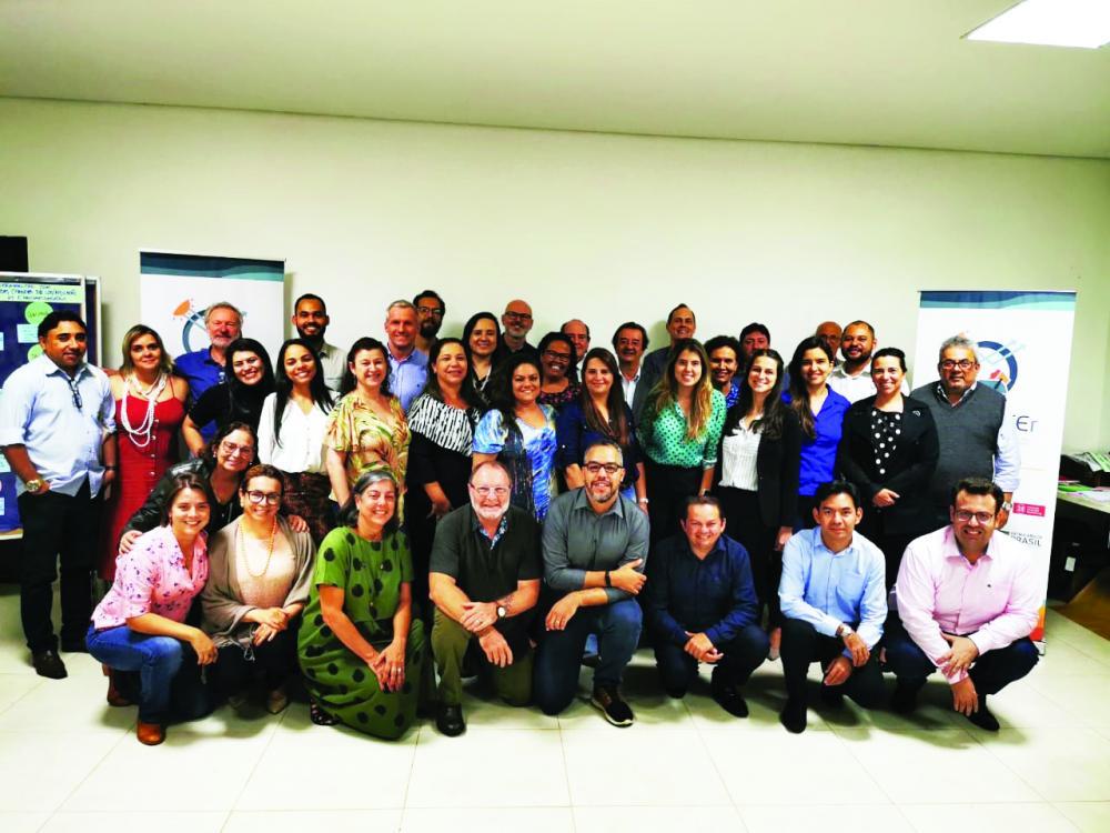 Participantes do evento nacional sobre Gestão de Resíduos Sólidos Urbanos - Foto: Divulgação