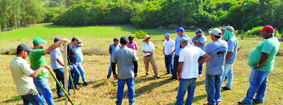 Programa executa ações de proteção e preservação ambiental, com objetivo de proteger e recuperar microbacias hidrográficas e áreas de recarga de aquíferos - Foto: Divulgação / Emater MG