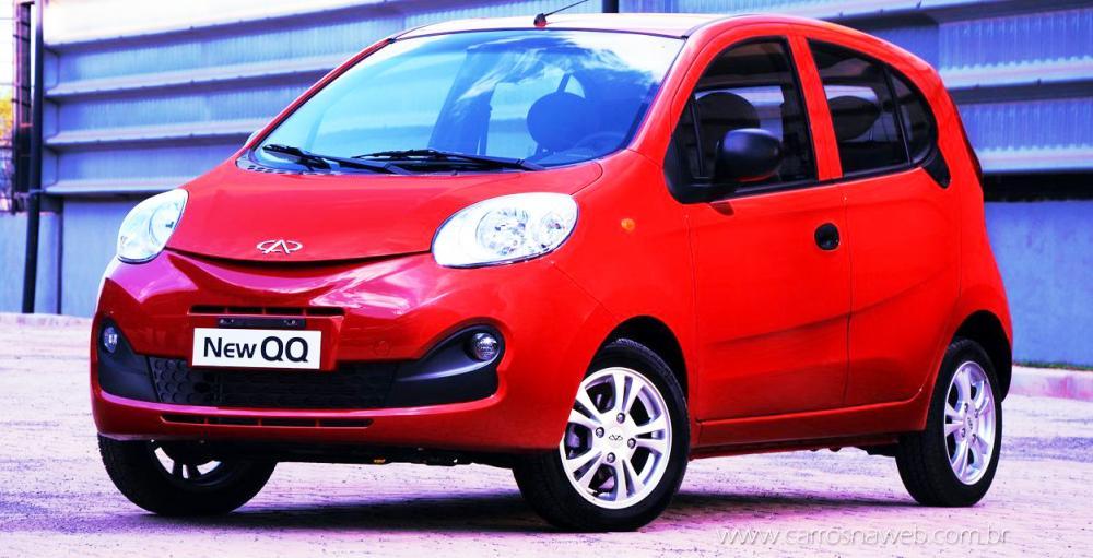 Foram vendidas menos de 8 mil unidades do compacto New QQ em três anos - Foto: Divulgação
