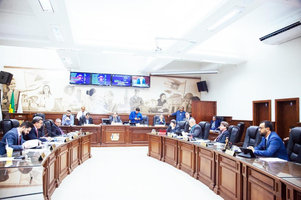 """Aprovado ontem no Plenário da Câmara o programa municipal """"Renova Saúde"""" - Foto: Rodrigo Garcia/CMU"""