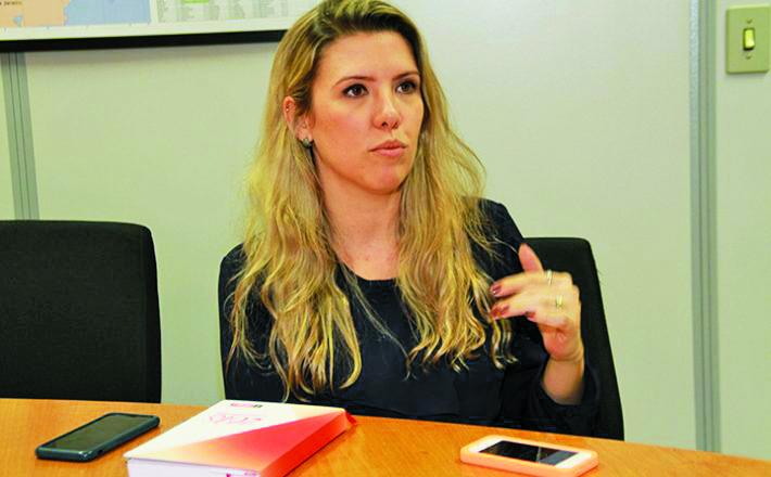 A presidente da Fiemg, Elisa Araújo, tem seu nove vinculado para as eleições do ano que vem - Foto: Divulgação