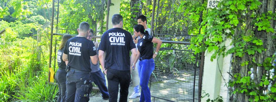 Ação policial para combater crimes relacionados à violência de gênergo - Foto: Divulgação/PCMG