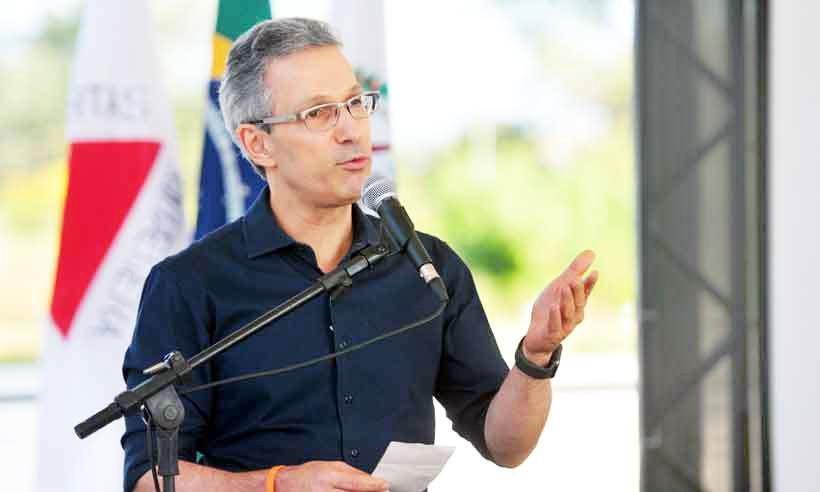 Zema será recepcionado por filiados do Novo, lideranças políticas e representantes de entidades classistas - Foto: GLADYSTON RODRIGUES