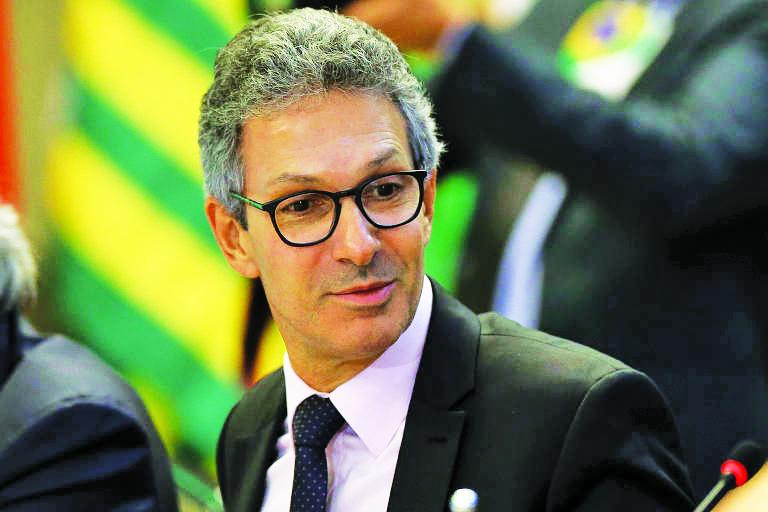Governador Romeu Zema será recepcionado por filiados do Novo, lideranças políticas e representantes de entidades classistas