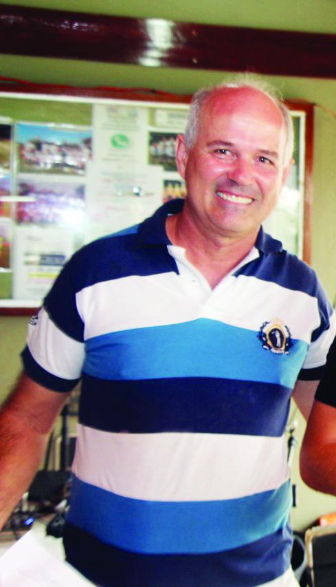 Diretor de futebol do Jockey Club, Marcos Henrique Silveira - Foto: Arquivo