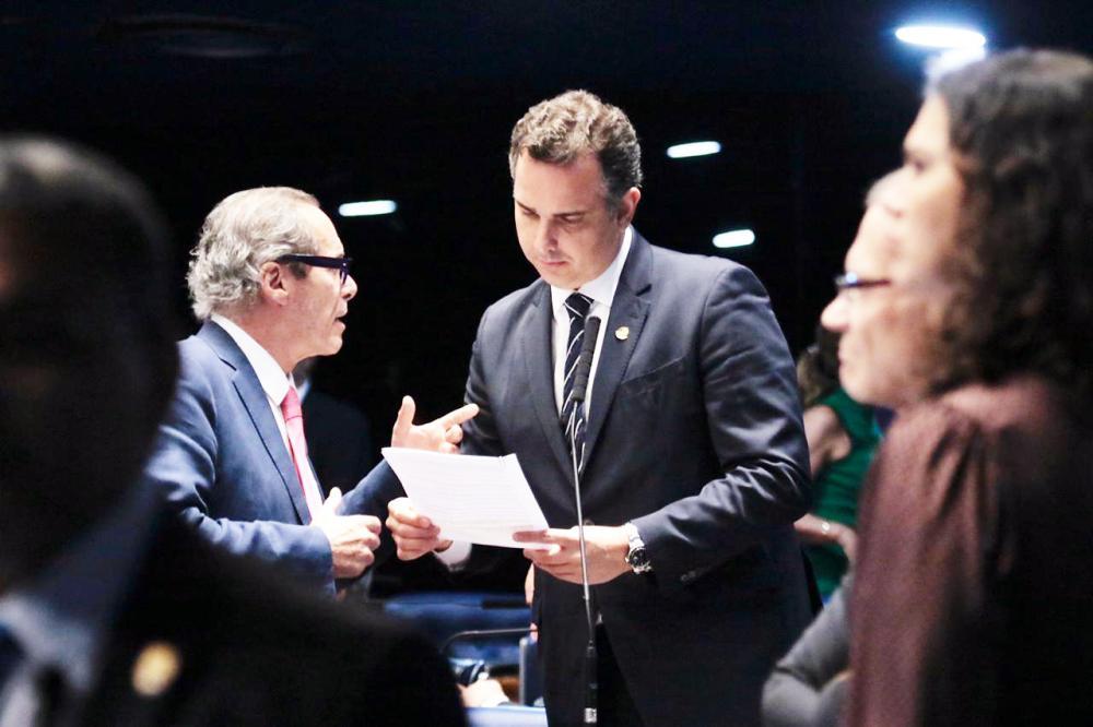 Senador Rodrigo Pacheco, que teve projeto de lei que altera Estatuto da Criança e do Adolescente aprovado - Foto: Divulgação