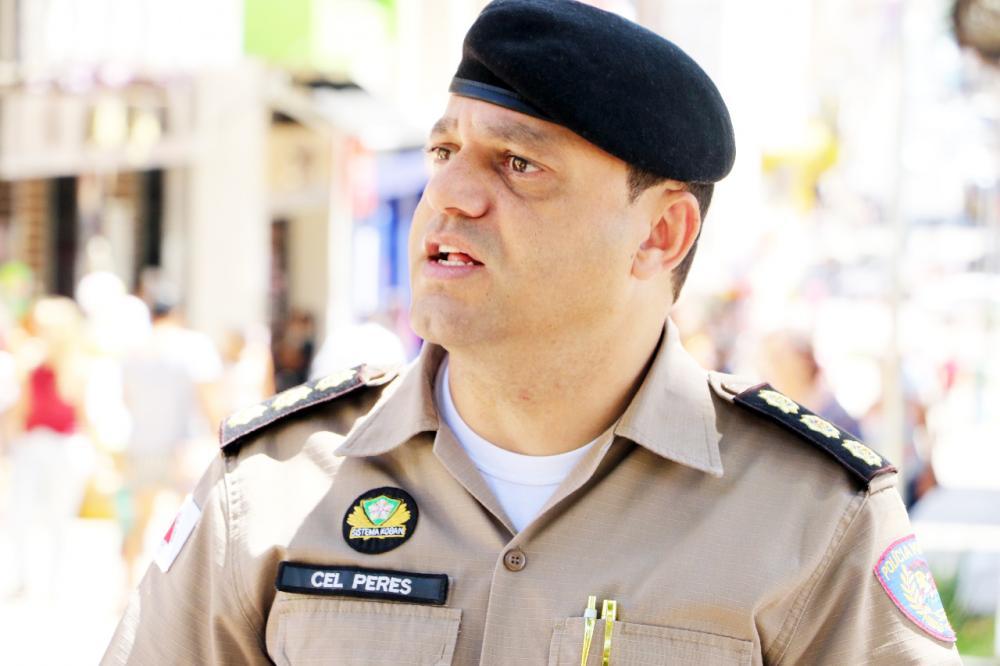 Comandante da 5ª RPM afirma que a tecnologia está sendo aliada importante da Polícia Militar e tem ajudado na redução da criminalidade - Foto: Sergio Teixeira/5ª RPM