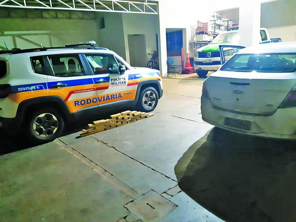 Drogas foram apreendidas em Iturama - Foto: Divulgação